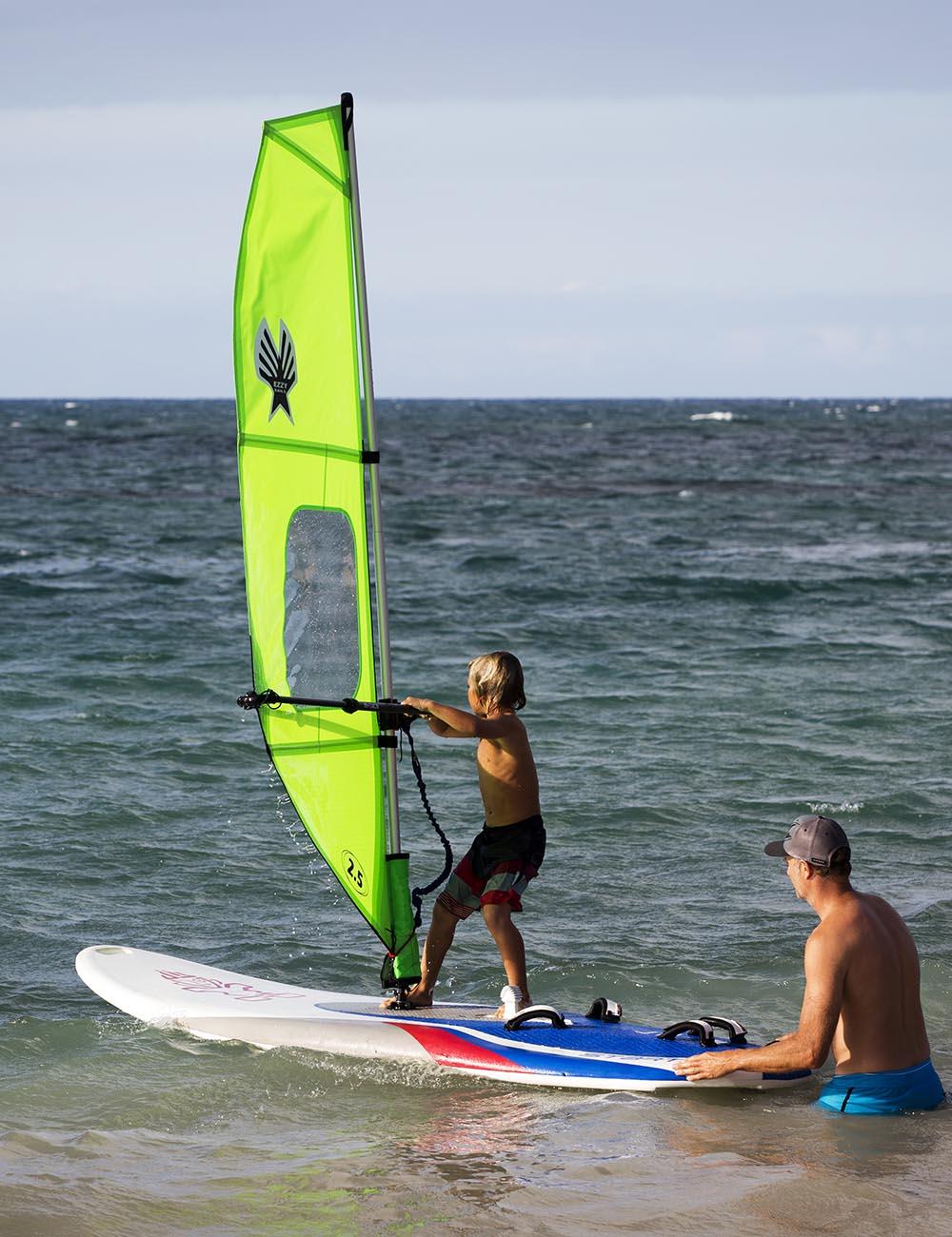 Ezzy Sails Kids Windsurf Rig